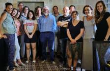 Membres de l'ICAT mantenen una trobada amb l'escriptor i periodista Vicenç Villatoro