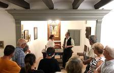 Imatge d'un moment de la 'Visita teatralitzada Maria Rosa'.