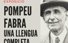 La exposición «presenta la aportación de Fabra a la lengua catalana, el gran arraigo social de su figura y obra por toda Cataluña y el impulso en la lengua que supuso su trabajo».