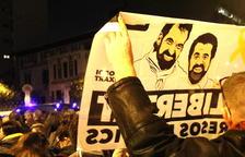 Amnistía Internacional pide que Sànchez y Cuixart sean puestos en libertad
