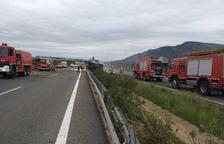 El camioner mort en l'accident d'Ulldecona és un veí de Jaén de 44 anys