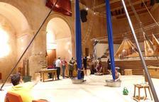 La cia Le Tendre Amour porta l'espectacle 'Seasons Circus' al Convent de les Arts d'Alcover