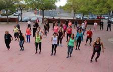 L'EAP La Granja-Torreforta celebra el Dia Mundial de l'Obesitat amb una 'masterclass' de zumba