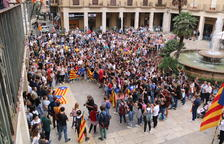 Tortosa concentra més de 400 persones en la primera protesta de rebuig a la sentència
