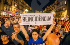 Les entitats sobiranistes convoquen una nova manifestació per la llibertat dels presos polítics a Tarragona