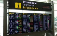108 vols cancel·lats al Prat amb motiu de les concentracions en contra de la sentència