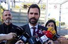 Torrent denunciarà per carta a tots els parlaments europeus la condemna «injusta» de Forcadell