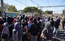 Restablerta la circulació de trens entre Sant Vicenç de Calders i Plana