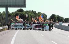 Milers de participants en la columna tarragonina de la Marxa per la Llibertat