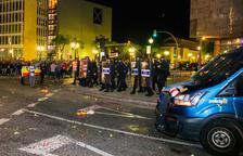 Trenta-un detinguts i 125 persones ateses pel SEM en les protestes de dimarts