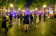 En llibertat amb càrrecs els catorze detinguts pels aldarulls de dimarts a Tarragona