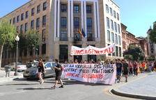 Elevat seguiment de la vaga a secundària a l'Ebre, les Comarques Centrals i el Vallès Occidental