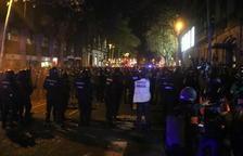 Presó sense fiança per a quatre dels sis detinguts dimarts en els aldarulls a Barcelona