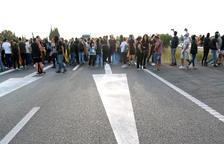 Quatre carreteres tallades per manifestació, entre elles l'AP-7 i l'N-340 a l'Ampolla