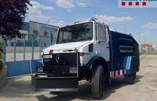 Els Mossos activen el camió d'aigua a Barcelona