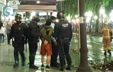 Aldarulls, detinguts, tensió i caos a Tarragona