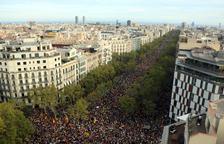 Els impulsors de la «vaga general més gran de la història de Catalunya» xifren el 750.000 els concentrats a Barcelona