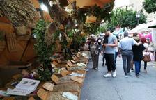 El Mercado Medieval llena las calles de la Parte Alta a pesar de la lluvia