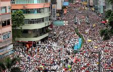 El moviment pro-democràcia de Hong Kong convoca una manifestació en suport a les protestes a Catalunya