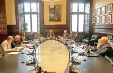 Reunión de la Mesa del Parlamento del 22 de octubre del 2019