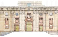 El Bisbat busca la financiación para empezar la limpieza de la fachada de la catedral de Tortosa