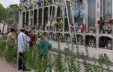 Una imatge d'arxiu d'una celebració de Tots Sants.