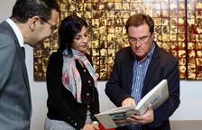 La cónsul de Marruecos Saloua Bichri visita la Pobla de Mafumet