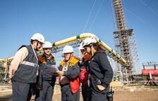 Repsol llega al ecuador de la parada del Complejo Industrial de Tarragona