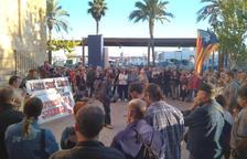 Concentració al Serrallo per demanar la llibertat dels detinguts tarragonins