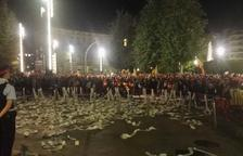 Centenares de personas se manifiestan en Tarragona contra la sentencia