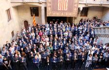 Torra, a los alcaldes: «El derecho a la autodeterminación no tiene camino de retorno, no podemos desfallecer»