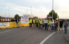 Reobrint Rotonda siguen cortando en Torredembarra a la espera del subdelegado