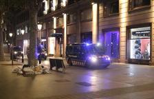 Más de la mitad de heridos por los disturbios en Barcelona eran mossos d'esquadra