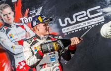 El estonio Ott Tänak se proclama en Catalunya Campeón del Mundo FÍA de Rallys