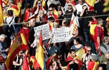 La manifestación de Sociedad Civil Catalana congrega a 80.000 personas en Passeig de Gràcia, según la Guardia Urbana