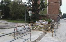 L'aigua fa reformular els tancaments de places a Mas Vilanova de Reus