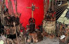 Troben 42 cranis, 31 ossos, un fetus i un altar en una casa de Ciutat de Mèxic
