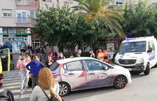 Ferida una nena atropellada a un pas de vianants a Sant Pere i Sant Pau