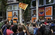 Els CDR organitzen una cercavila a Barcelona fins a les seus de Ciutadans i el PP