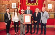 Lliurat a títol pòstum el Fill Adoptiu de Tarragona al fotògraf Joaquim Cabezas