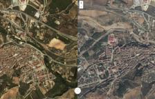 Les dures imatges de l'abans i el després dels aiguats al Camp de Tarragona