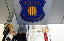 Cinc detinguts per robar en cases del Barcelonès i el Vallès mentre els propietaris dormien