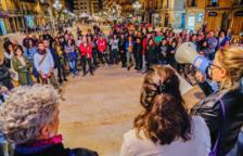Prop d'un centenar de persones es concentren a Tarragona per rebutjar les agressions sexuals i feminicidis