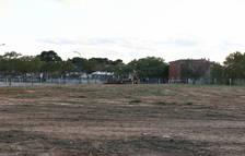 Comença la construcció del Parc de les Olors de la Boca de la Mina