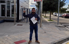 Una «persona vinculada a Ciutadans» agredeix al regidor de la CUP a Móra d'Ebre