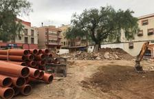El Ayuntamiento de Mont-roig ejecuta las obras de la plaza Miramar