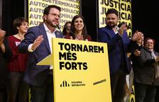 ERC torna a guanyar a Catalunya amb 13 diputats però no revalida el resultat rècord de l'abril