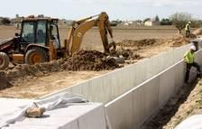 Comencen les obres de millora de les sèquies de l'illa de Buda i de Casilla, al delta de l'Ebre