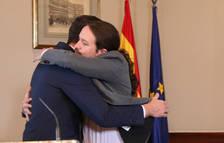 Sánchez consigue un amplio apoyo de la militancia a la coalición con Podemos