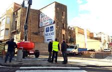 La Ràpita derriba las casas viejas de la calle Constància para ensanchar el vial